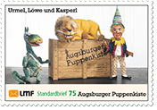 """Augsburger Puppenkiste""Standardbrief 75 Ct."