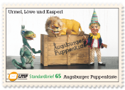 """Augsburger Puppenkiste""Standardbrief 65 Ct."