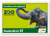"""Augsburger Zoo""Standardbrief 65 Ct."